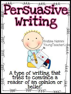 Persuasive Writing?