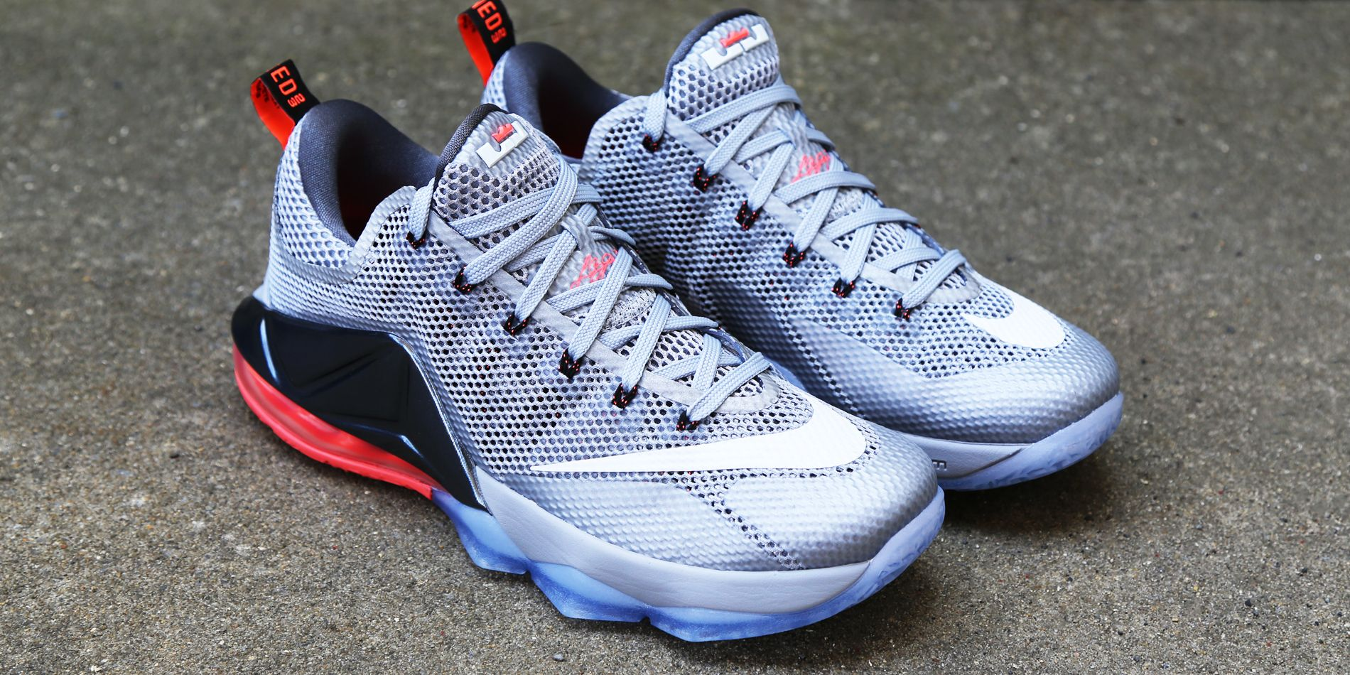 New Low cut version of the Nike LeBron 12 for the summer featuring metallic  silver.