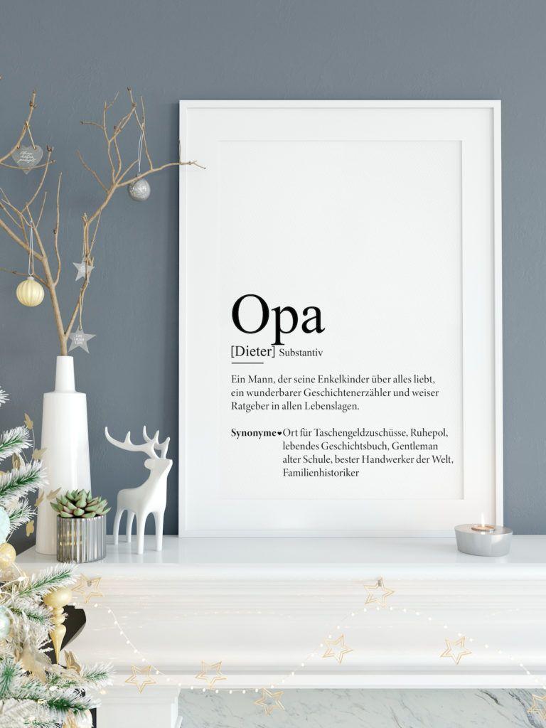 Definition Weihnachten.Opa Definition Bild Weihnachten Geburtstag Geschenk Opa