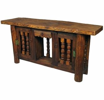 rustic turned door console table rustic console tables on small entryway console table decor ideas make a statement with your home s entryway id=62939