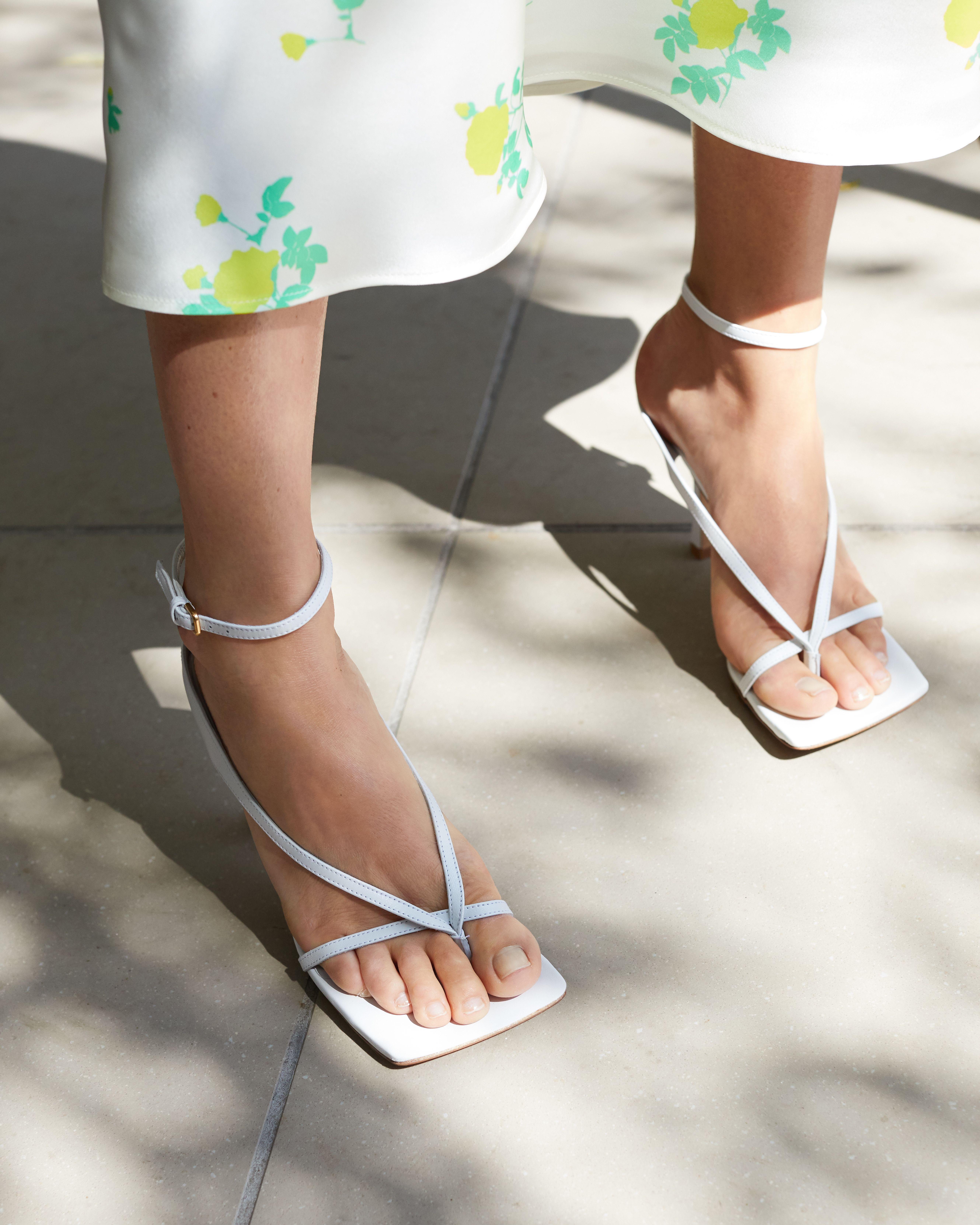 BOTTEGA VENETA Leather sandals is part of Shoes -