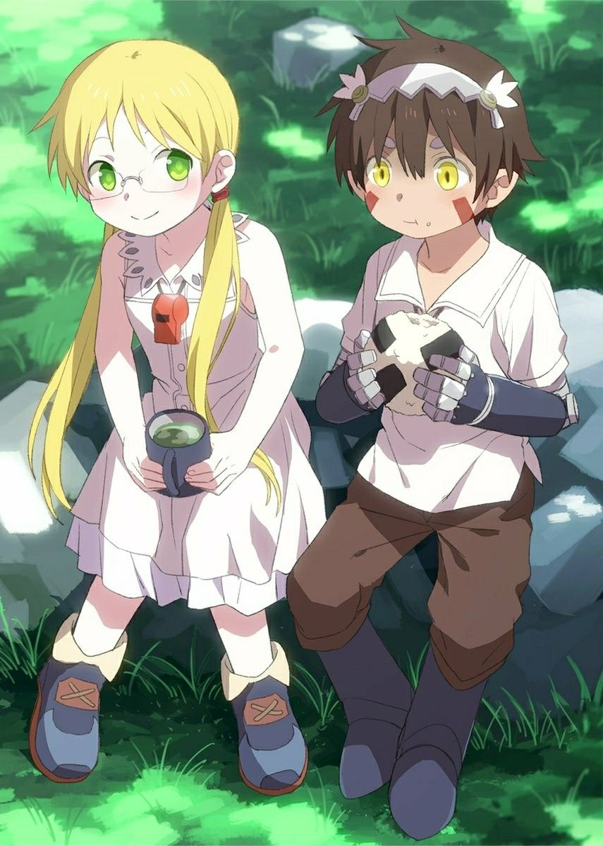 Made in abyss character art abyss anime anime
