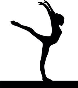 gymnast silhouettes gymnastics silhouette gym clipart athletic athlete silhouettes