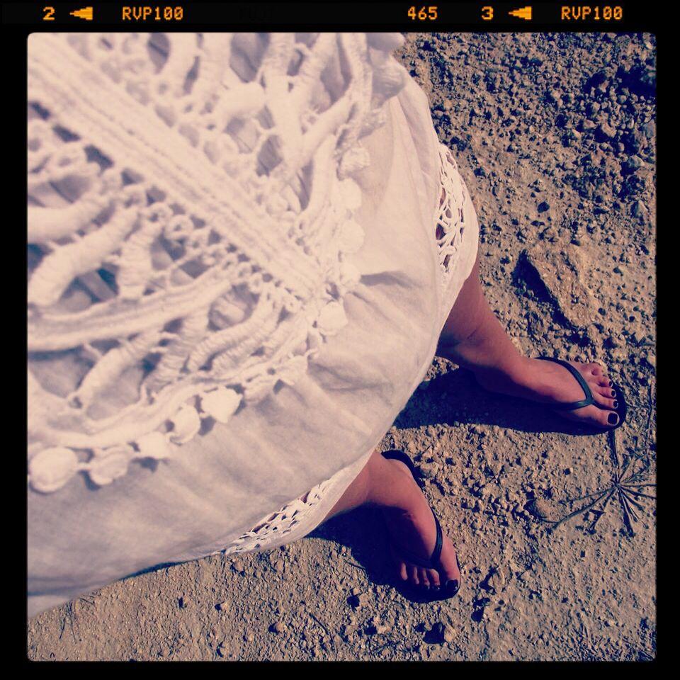 Beach cover-up...my Malta dress...