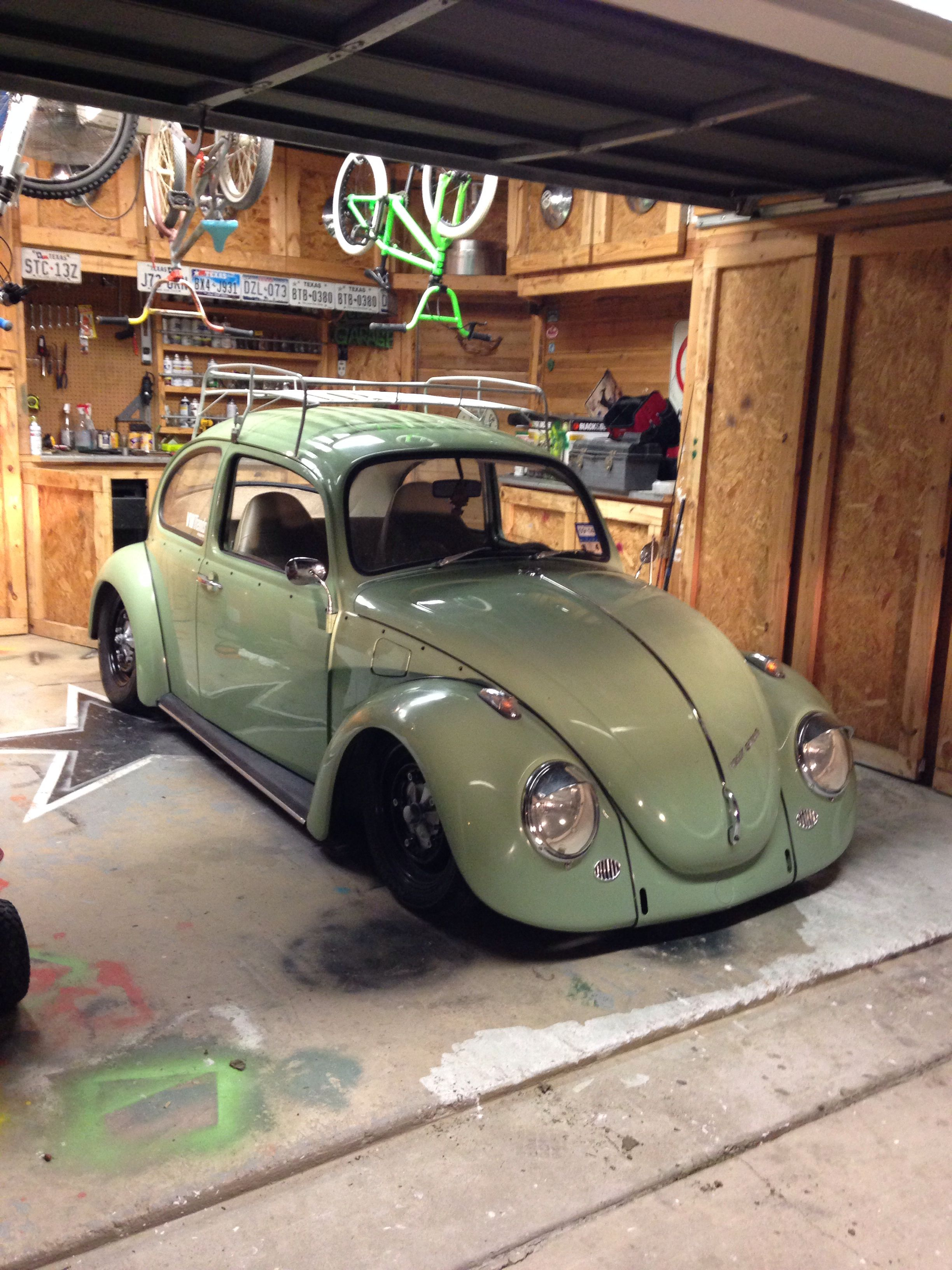 Agave Green Slightly Lowered For A Slightly Aggressive Stance Volkswagen 181 Volkswagen Karmann Ghia Vw Beetle Classic
