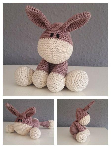 Häkelanleitung Esel Pattern Donkey Häkeln Crochet Baby Knitting