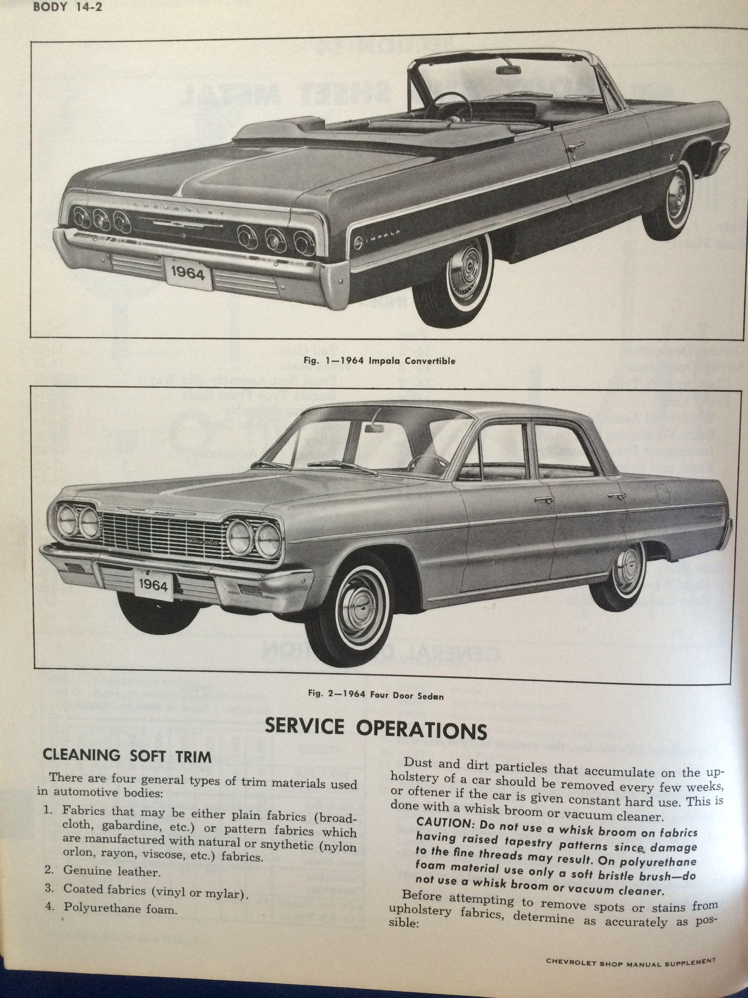 ... Array - 64 chevrolet full size shop manual impala pinterest chevrolet  rh ...