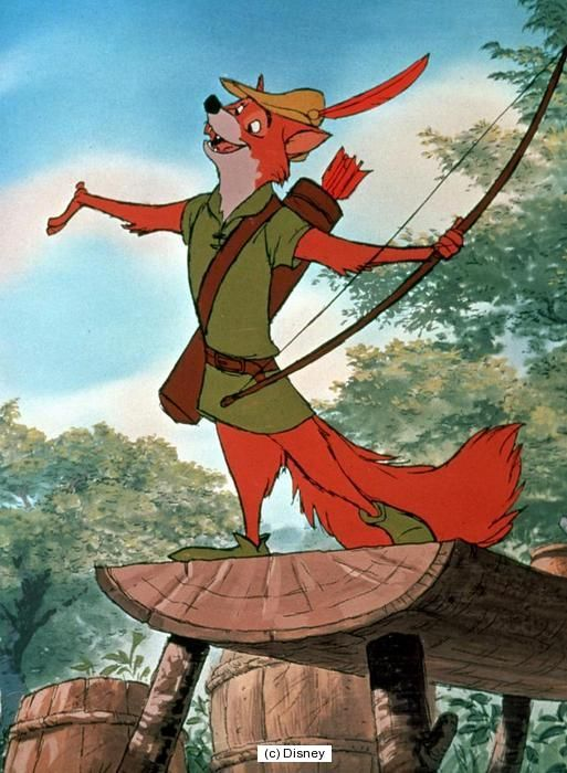 Robin-Haube Zeichentrickfilm