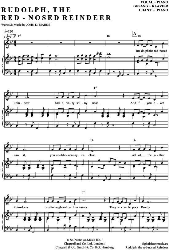 #ChristmasSon #Gesang #Klavier #RedNosed #Reindeer  – aura slonya