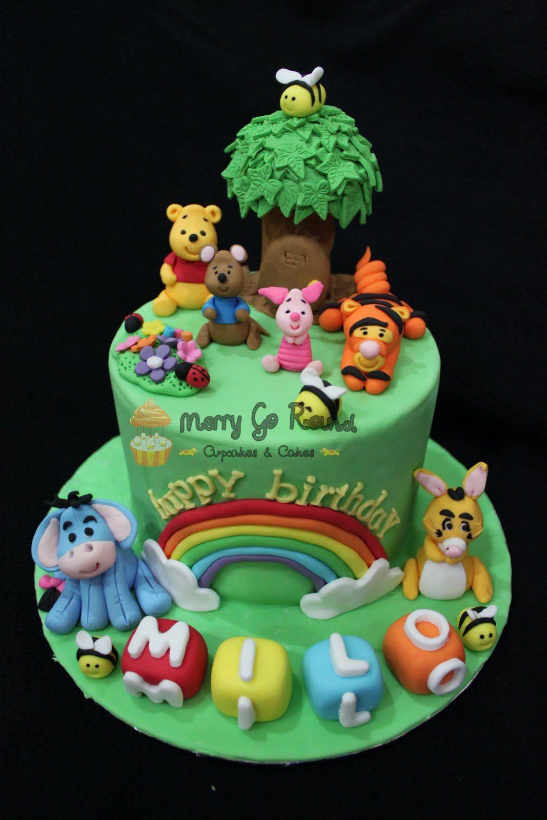 Winnie The Pooh Birthday Cakes Winnie The Pooh Cake
