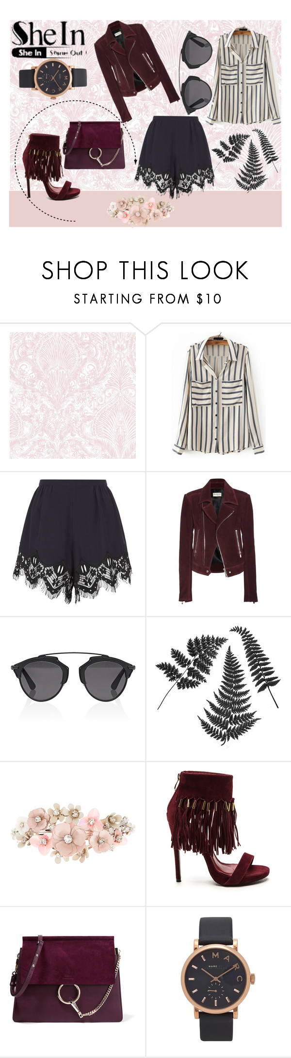 """Lovely Fashion"" by nadina-2001 ❤ liked on Polyvore featuring Chloé, Balenciaga, Christian Dior, Accessorize and Marc Jacobs"