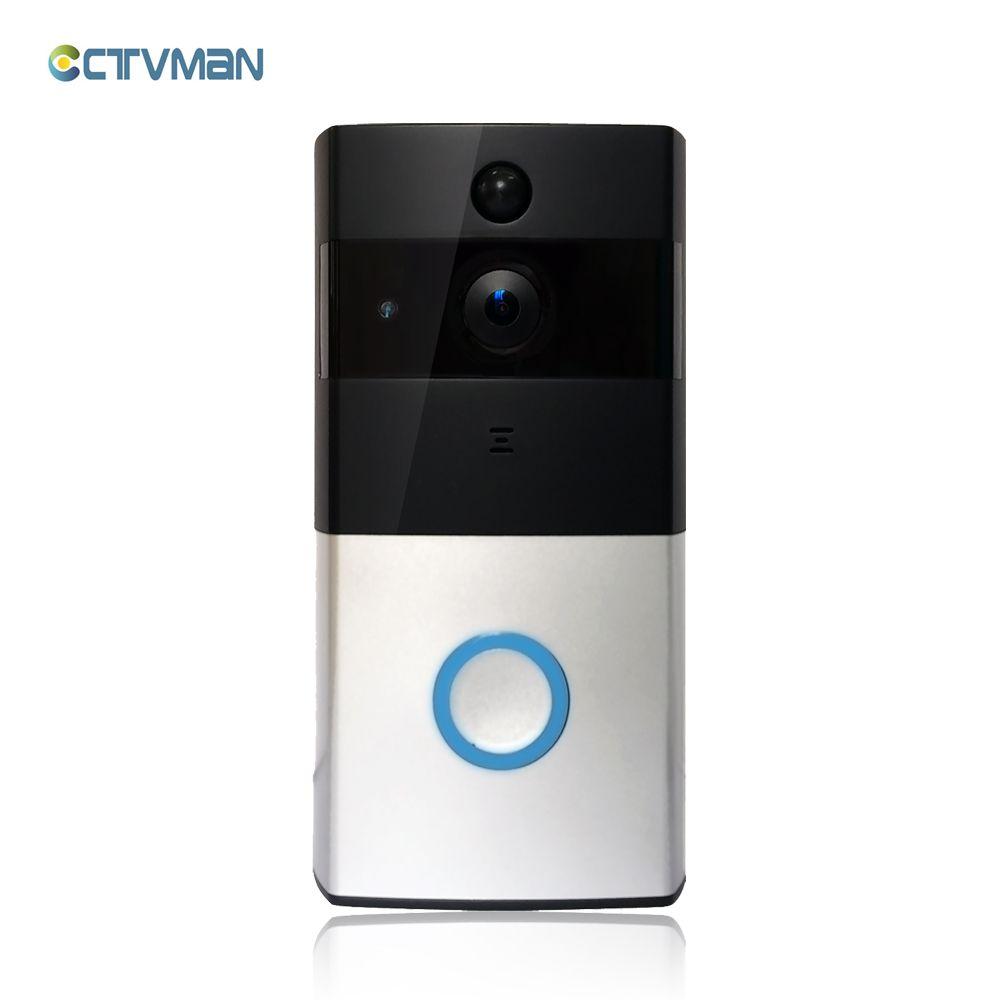 ctvman wireless video-türsprechanlage hd pir wifi türklingel