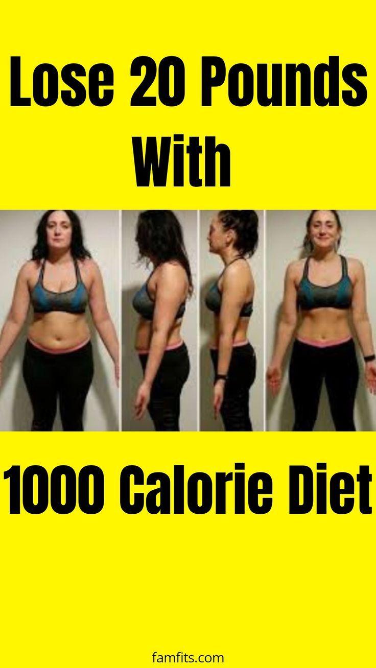 Einfache 1000 Kalorien Mahlzeit Plan zur Gewichtsreduktion auf Budget   – Exercise And Fitness Tips