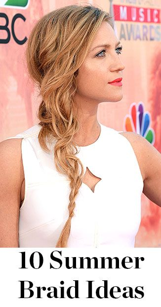 Celebrity Red Carpet Hairstyles How To French Braid French Braid Hairstyles Hair Styles Beautiful Braids