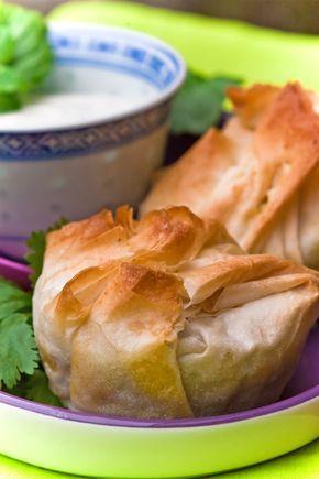 Indische Teigtaschen vegetarisch gefüllt Ich mag die indische ...