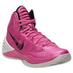 Men\u0027s Nike Hyperdunk 2013 Basketball Shoes | FinishLine.com | Pink  Fire/Metallic Silver. Nike Air ForceNike ...