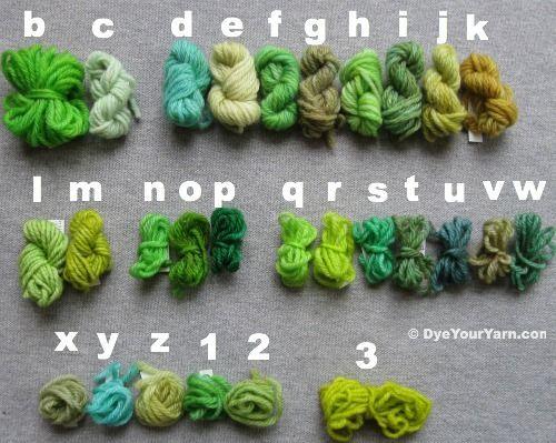 Wilton food dye and kool aide yarn dye formulas | DIY Ambitions ...