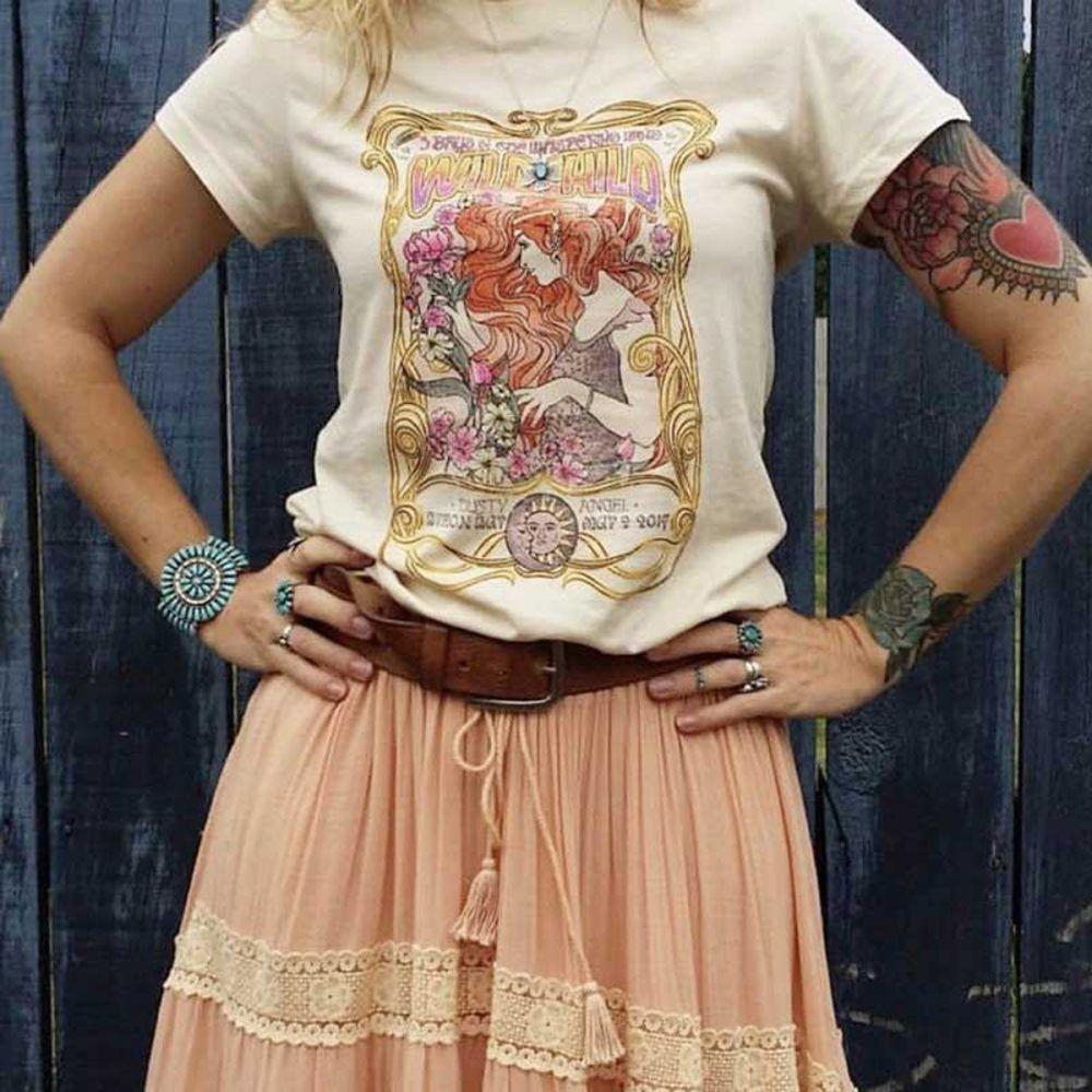 Wild Child Boho Chic T-Shirt – 50% Off + Free Shipping – Bohemian Shirts