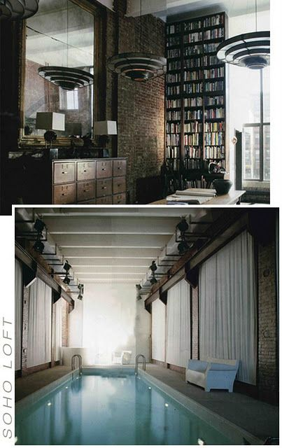 Manhattan loft-Stop it this place cannot exist?! Home Sweet Home