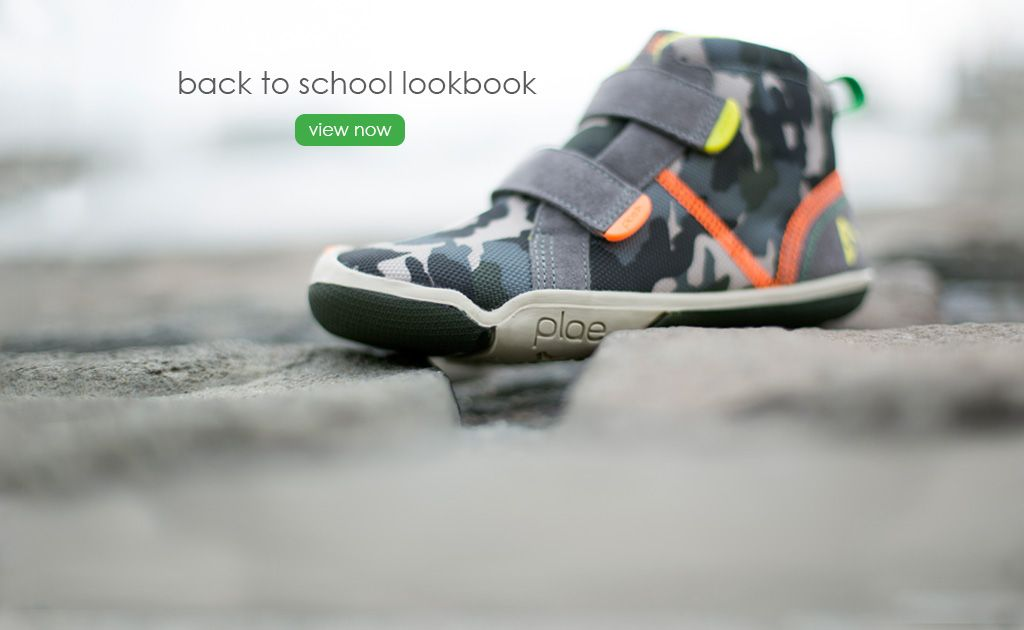 Plae shoes have interchangeable tabs