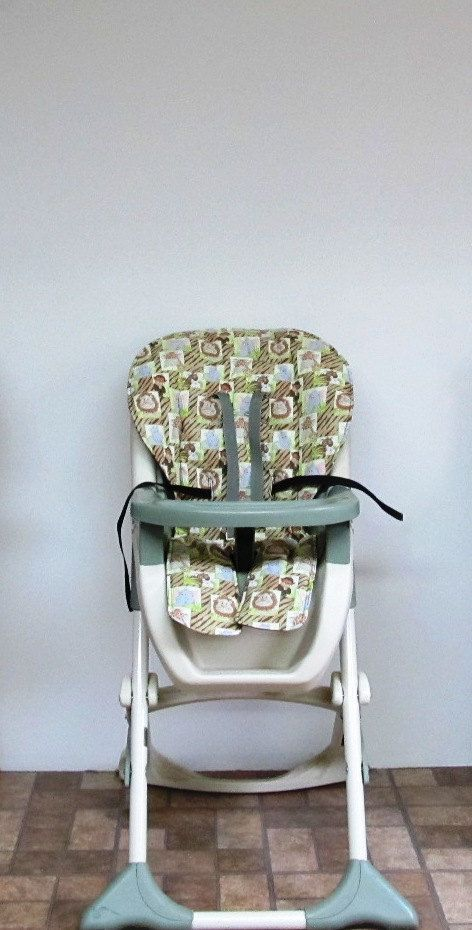 Custom Graco Baby Accessory High Chair Cover Replacement Baby Etsy Highchair Cover Baby Chair Chair Pads