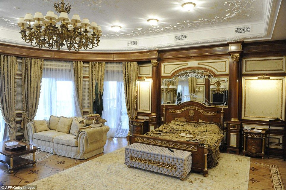 Charming Former Ukrainian President Viktor Yanukovych Lived In Extreme Luxury, With  Furniture And Fittings That Few