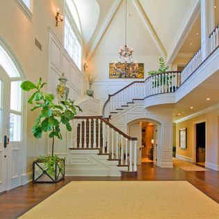 Shingle Style Estate - traditional - Entry - Los Angeles - Arc Design Group