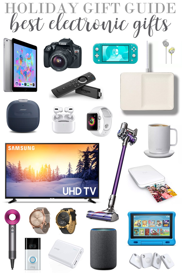 Holiday Gift Guide Best Electronic Gifts For The Love Which Of These Electronics Are You Goin Best Electronic Gifts Tech Christmas Gifts Electronic Gifts