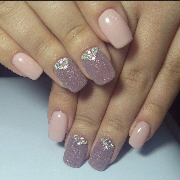Фото маникюра №165 | Ногти, Шикарные ногти и Модные ногти