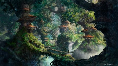 オリジナル 森の村 よー清水 3日目南ヤ 22bのイラスト