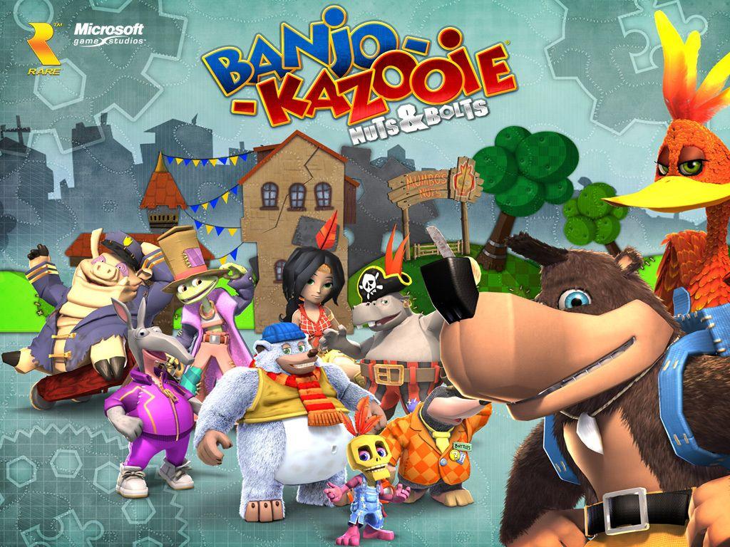 Banjo Kazooie Wallpaper Banjo Kazooie Nuts Bolts Banjo Kazooie Banjo Character Poses
