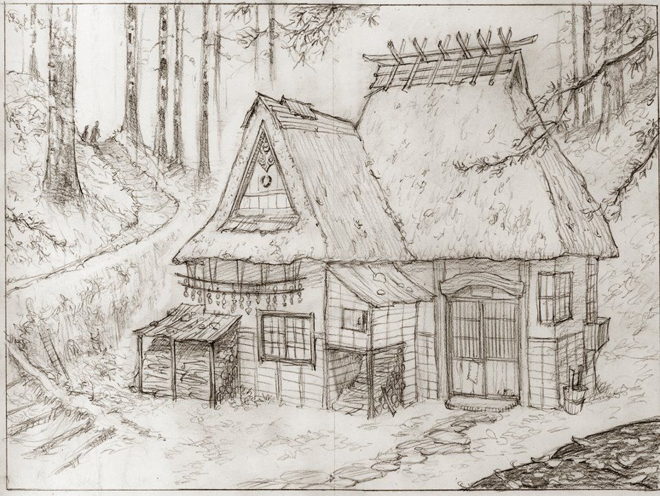 Woods house by mark crilley art someday i will draw like this woods house by mark crilley ccuart Image collections