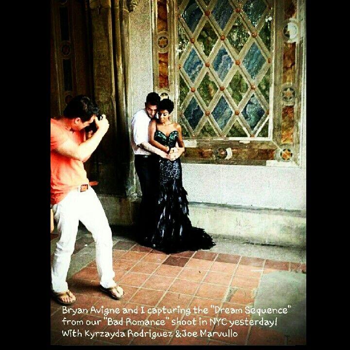 Bad Romance Photo Shoot