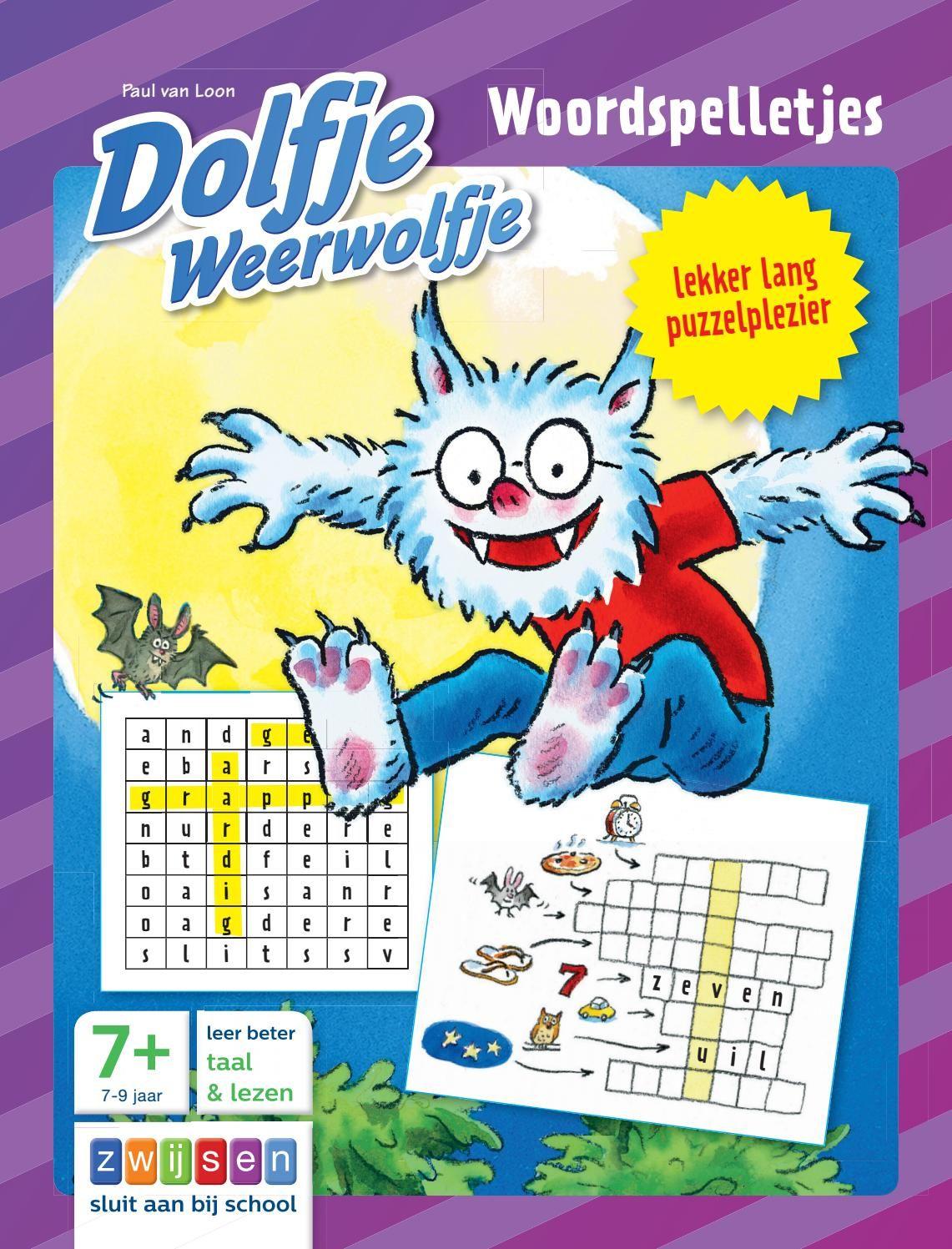 Dolfje Weerwolfje Woordspelletjes Woordspelletjes Lezen Peuterboek