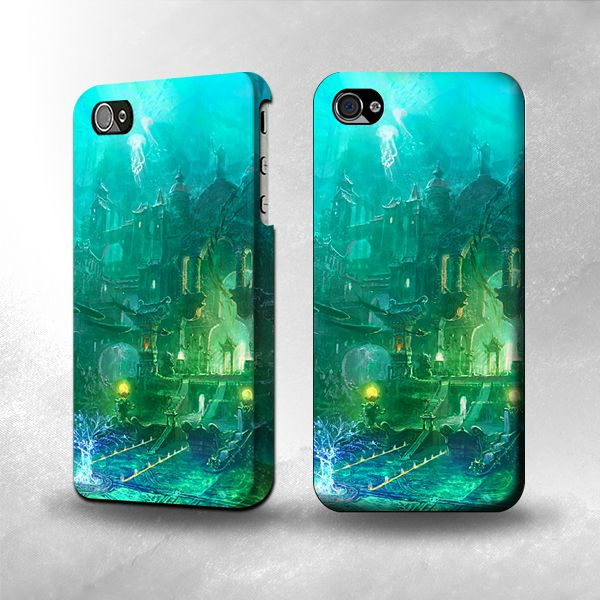 CoolStyleClothing.com - S0324 Atlantis Underworld Case Cover For IPHONE 5/5S, $19.99 (http://www.coolstyleclothing.com/s0324-atlantis-underworld-case-cover-for-iphone-5/)