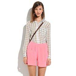 Silk Tap Shorts Madewell