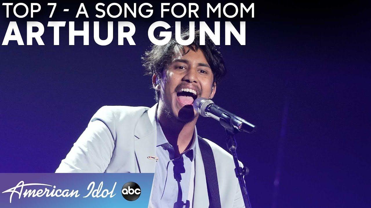 Incredible Arthur Gunn Performs Simple Man For Mom American Idol 2021 Youtube In 2021 American Idol The Incredibles Idol