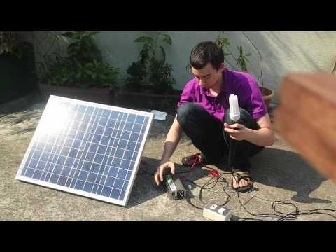 Inverter Wired Directly To Solar Panel Solar Panels Solar Solar Panel Inverter