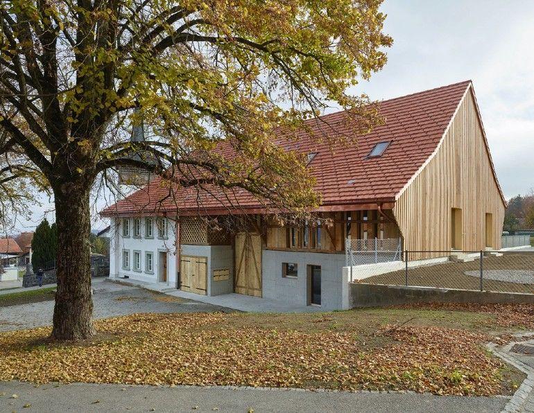 Ehemaliger Bauernhof in Berlens (CH)