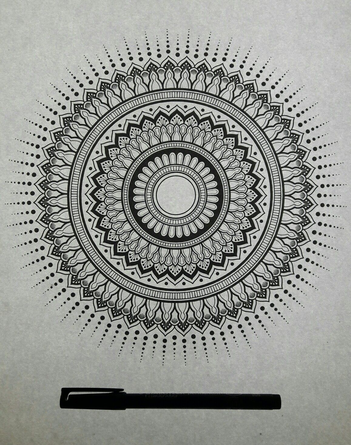 Handmade Mandalas Follow Me Mandala Ink Mandalas Art