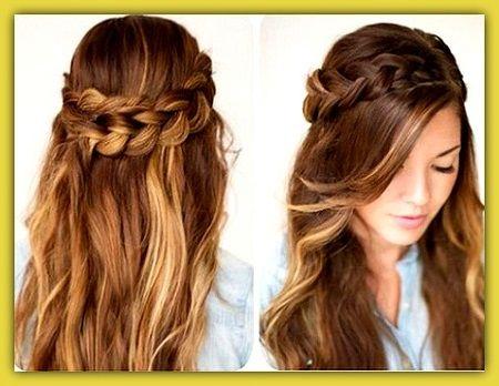 Peinados Lindos Y Faciles De Hacer Medium Hair Styles Hair Styles Hairstyle