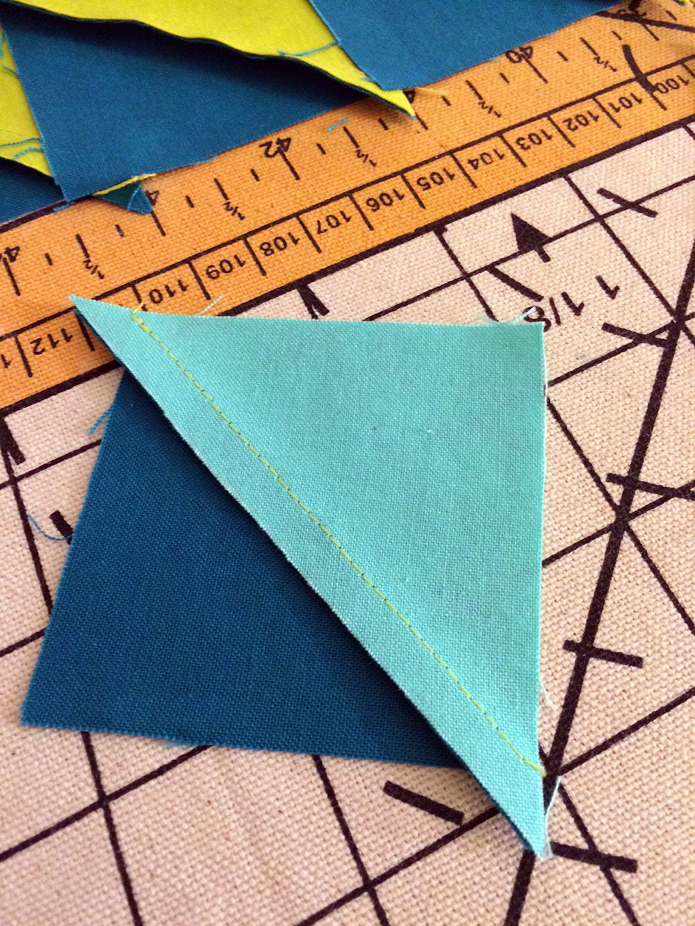Sewing Shortcuts For Making A Chic Chevron Pillow Easy