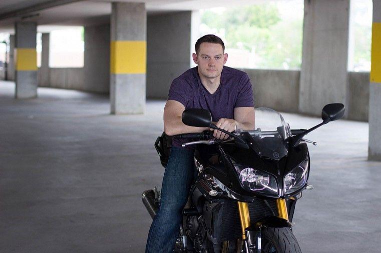 Chelsea Park Photography: Ben - Motorcycle - Portrait Photography