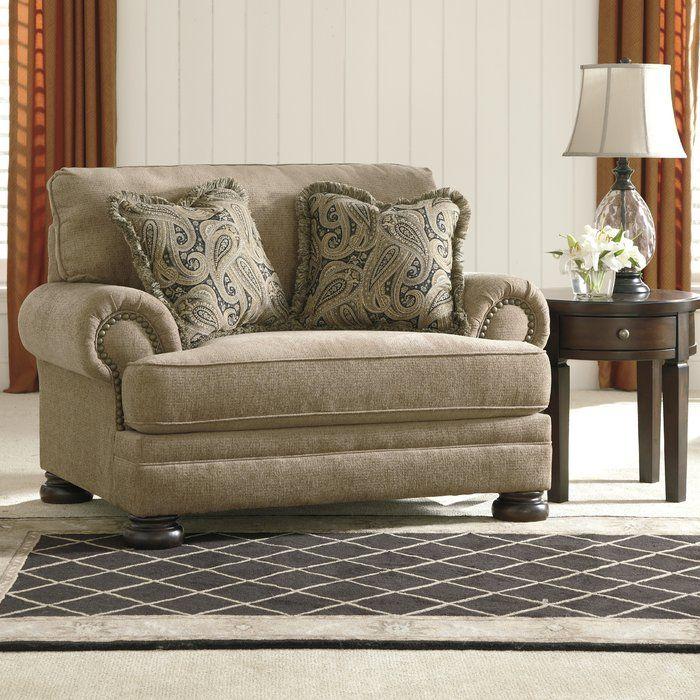 Best Three Posts Dunlap Chair And A Half Reviews Wayfair 400 x 300