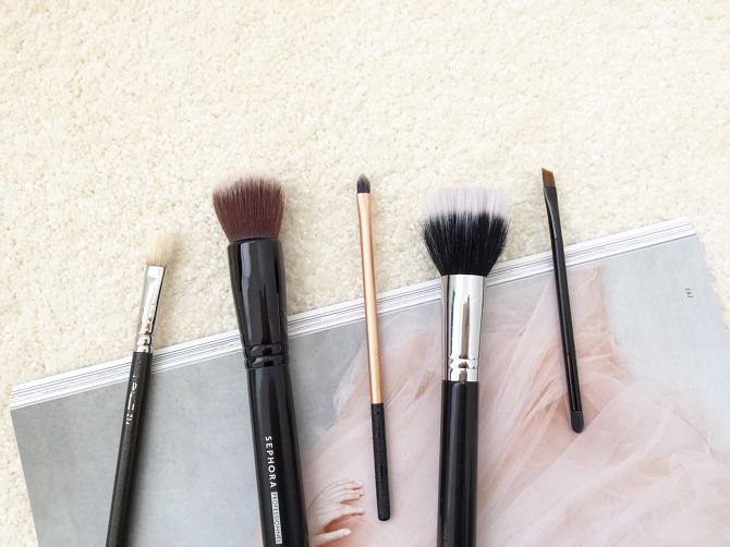 My can't live without beauty brushes