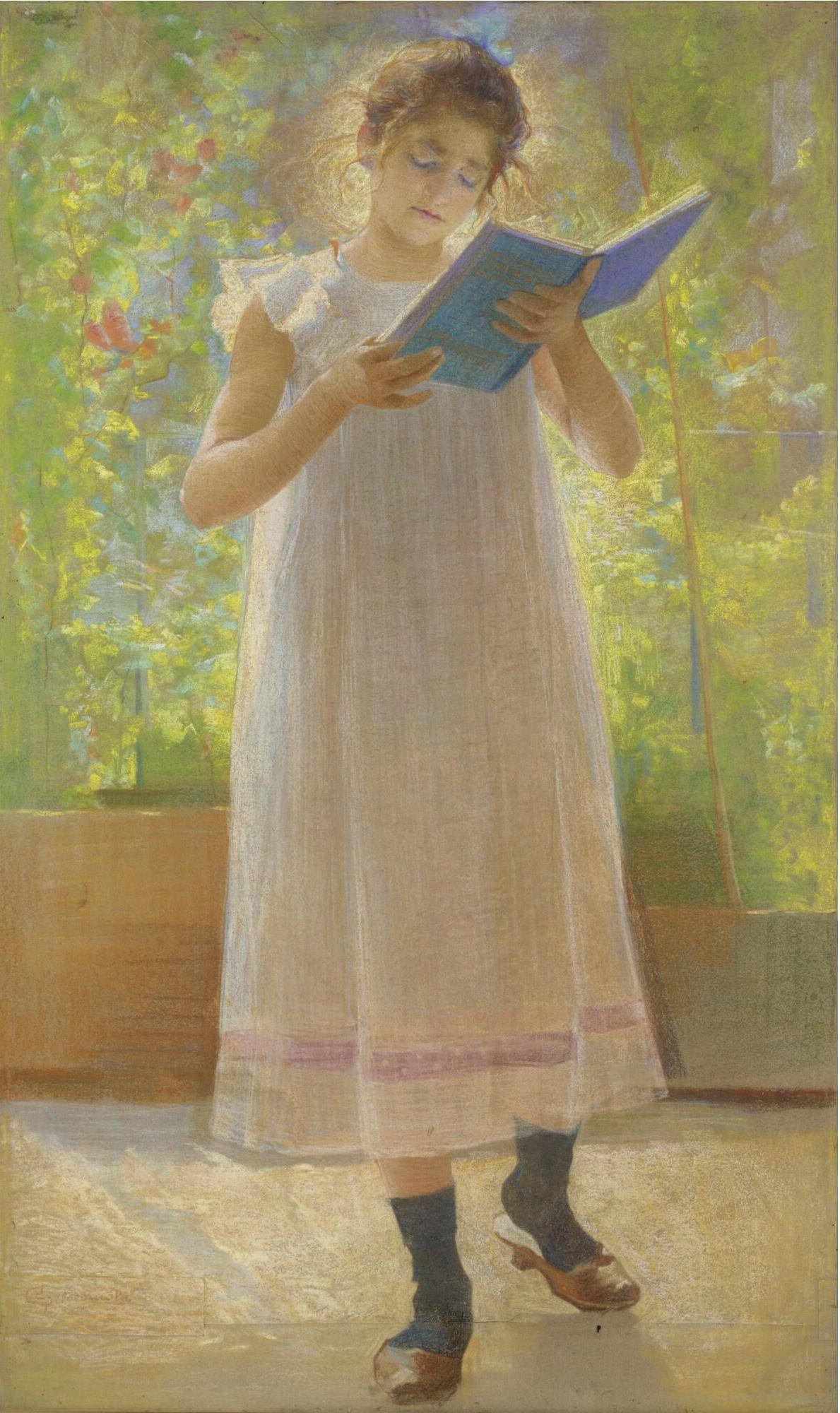 Giovanni Sottocornola (1855 - 1917) Libro Azzurro, c1895 ...