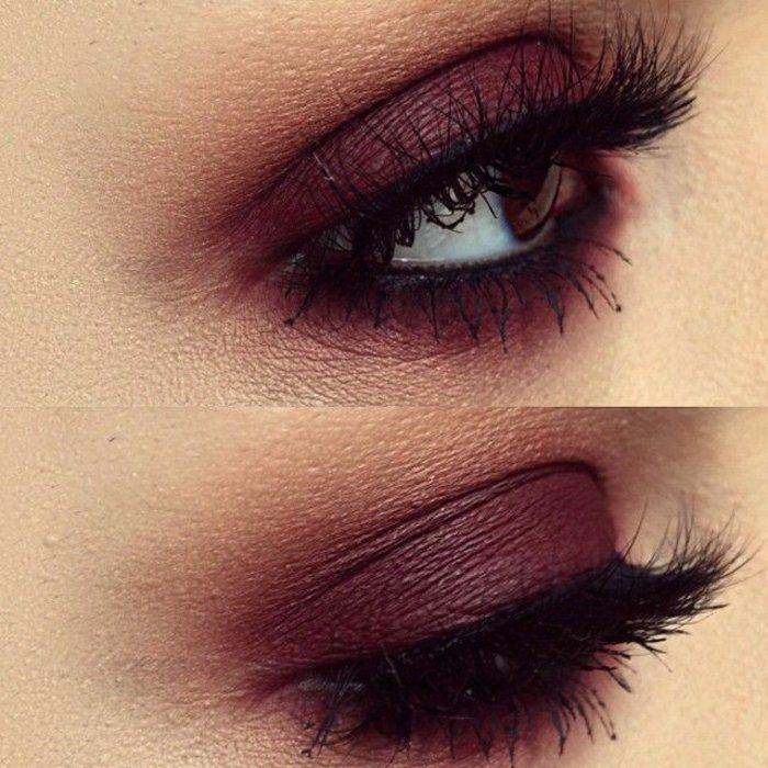 Le maquillage yeux marrons peut être très stylé. Ce que les professionnels  donnent comme conseil pour le maquillage de soirée est d\u0027utiliser de  brillant, de