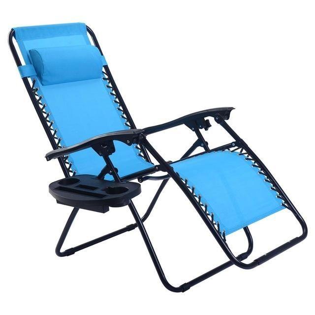Guplus Folding Zero Gravity Chair Outdoor Picnic Camping