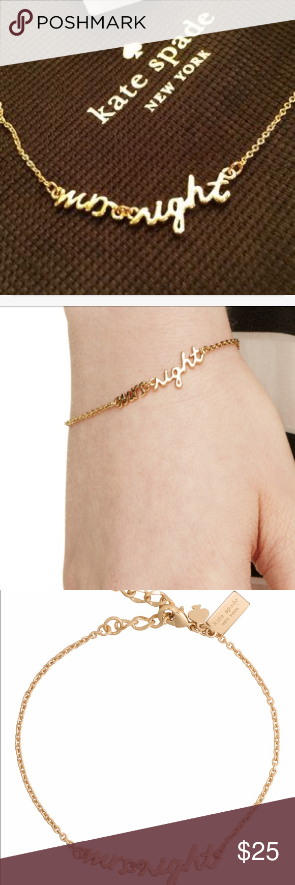 Kate Spade Mrs Right bracelet New with tags Kate Spade Mrs Right bracelet kate spade Jewelry Bracelets
