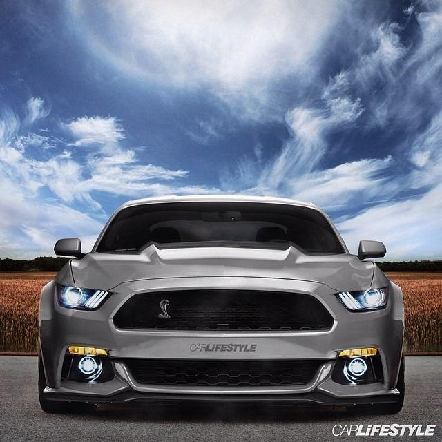 GT500 Cobra • Render By @Carlifestyle • • #2015 #Mustang
